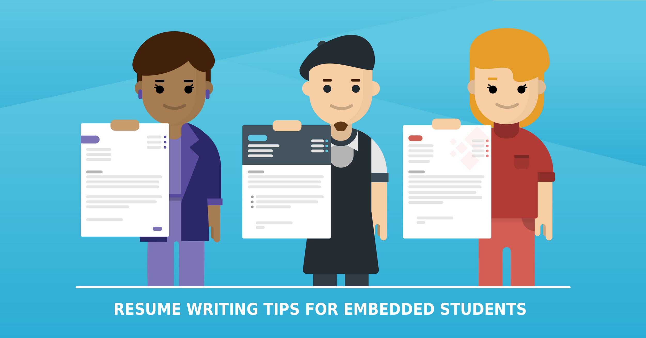 RESUME WRITING TIPS FOR EMBEDDED STUDENTS, ptinstitute